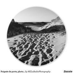Poignée de porte, photo de plage