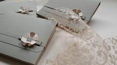 Wedding Stationery Azuleya // Mood: Flower Power - Grey & Pink