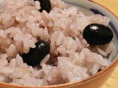 農家さん直伝!丹波の黒豆ご飯の画像