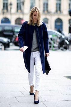 JENNIFER NEYT | EASY CHIC IN BLUE - Le Fashion