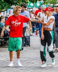 Haley Baldwin, Hailey Baldwin Style, Baldwin Street, Dope Fashion, Womens Fashion, Justin Bieber Style, Justin Hailey, Street Wear, Celebs