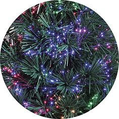 Holiday Time 32 Inch Green Fiber Optic Christmas Tree