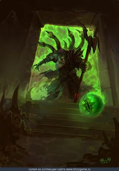 Gul'dan by Kevan Chang » Галерея » World of Warcraft