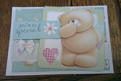 Forever Friends Kraft notes - your so special card