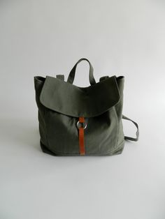 ab13986cd8 Express shipping NEW Tanya in olive green by christystudio Diaper Backpack