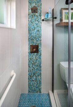 Ideas Apartment Bathroom Spa Tile For 2019 Modern Bathroom Tile, Bathroom Spa, Bathroom Design Small, Budget Bathroom, Bathroom Faucets, Bathroom Plants, Remodel Bathroom, Bathroom Designs, Bathroom Lighting