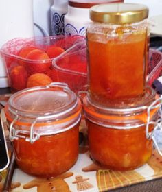 Apricot and Mango Jam - I use dry mango instead to give it a little texture...yum