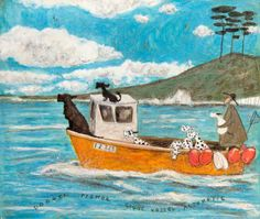 """Dogger Fisher Light Vessel Automatic"" - Sam Toft 2015"