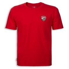 100% bawełna. Koszulka dla każdego fana. Z logo Ducati na piersi i napisem na plecach. #ducati