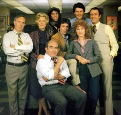 Lou Grant Loved this series, based around the daily routine at the LA Tribune