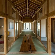 Traditional Japanese floor mats define the proportions of this house in Niigata designed by Tokmoto Architectures Room as a strict grid of squares. See a full set of images on http://ift.tt/1RayTxi #architecture #Japan #house #houses by dezeen