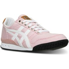 Asics Women's Ultimate 81 Casual Sneakers from Finish Line (335 DKK) ❤ liked on Polyvore featuring shoes, sneakers, traction shoes, 1980s shoes, asics, 80s shoes and breathable shoes