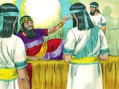 God writes on the wall His judgement of King Belshazzar. (Daniel 5:1-31): Slide 2