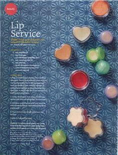 We're in Kiwi Magazine! Treat yourself with our easy DIY lip balm recipe. We're psyched! Our natural (and smoochable) lip balm recipe landed its very own page in Kiwi Magazine. Homemade Lip Balm, Diy Lip Balm, Homemade Skin Care, Homemade Beauty, Diy Beauty, Homemade Moisturizer, Beauty 101, Homemade Products, Homemade Crafts