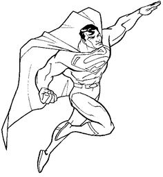Turn Into Superman Coloring Pages - Super Hero Coloring Pages : KidsDrawing – Free Coloring Pages Online