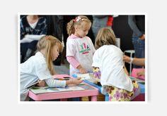 Paradyżowa Kraina - workshops for children on Lodz Desig Festival 2012