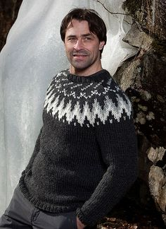 Mens fashion knitted wool sweater | by Mytwist