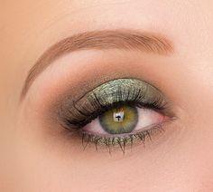 Zoeva Offline Lidschattenpalette grünes Augen Make Up