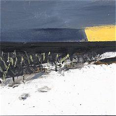 Ørnulf Opdahl: Vinter i vest (studie), 26 x 35 cm Oslo, Scandinavian, Waves, Mountains, Abstract, Artist, Nature, Prints, Outdoor