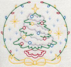 [转载]欢乐圣诞---轮廓刺绣图案<wbr><wbr>1