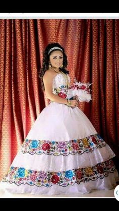 Mexican Dress Fiesta,5 De Mayo,Wedding 2 Piece.Vestido de ...