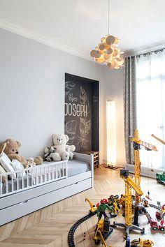 Современная элегантность: черно-белая квартира в Париже | Пуфик - блог о дизайне интерьера