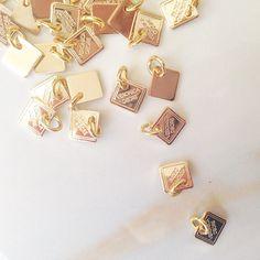each sunglass chain has a signature Veronica DeOre diamond charm