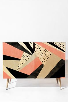 Buy Credenza with Happy Girl designed by Elisabeth Fredriksson. One of many amazing home décor accessories items available at Deny Designs. Refurbished Furniture, Art Furniture, Upcycled Furniture, Luxury Furniture, Furniture Makeover, Painted Furniture, Furniture Design, Furniture Removal, Modern Buffet