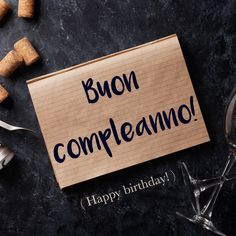 Italian Phrase of the Week: Buon compleanno! (Happy Birthday!) To find out more about this phrase and hear the pronunciation, visit our website! #italian #italiano #italianlanguage #italianlessons Cool Italian Words, Italian Phrases, Italian Quotes, Basic Italian, Happy Birthday Italian, Italian Greetings, Italian Vocabulary, Italian Lessons, Rare Words