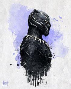 Black Panther by Mayank94214.deviantart.com on @DeviantArt