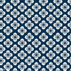 Seamless Japanese pattern with floral motif vector Motif Vector, Vector Pattern, Pattern Art, Vector Free, Vector Design, Design Design, Free Pattern, Japanese Patterns, Japanese Prints