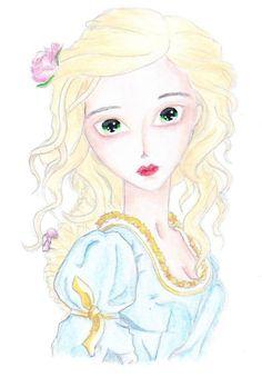 Follow me on instagram for more images (adele_tischler). Model by Amadiz studio! #girl #doll #princess #beauty #hair #fashion #cute #kawaii