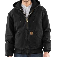 Carhartt Sandstone Active Jacket - Washed Duck (For Men))