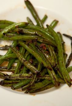 Chinese Sauteed Green Beans by Small Wallet Big Appetite
