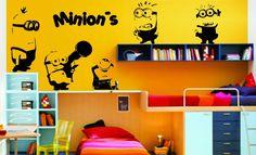 Decore o quarto dos seus filhos com os Minions