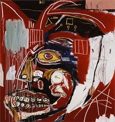 Neo-Expressionism-Figurative-Painting-By-Jean-Michel-Basquiat-1983-In-this-Case-450x478.jpg (450×478) drip from sky onto actavis bottle