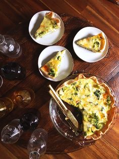 Recipe: Broccoli & Cheddar Quiche {Cabot}