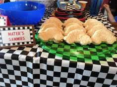 Disney Cars Radiator Springs Candy Buffet Diy Party Ideas
