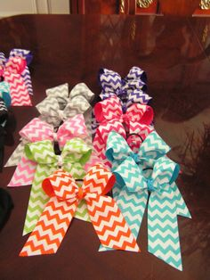 Competition Cheer bows Chevron get the by elephantsnbutterflys, $6.00