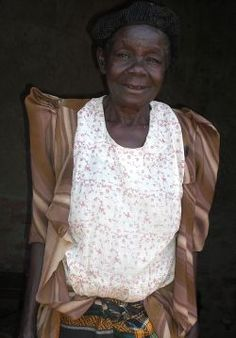 It's not just Children from the Ugandan slum that we help...here's the story about a 73 year old Grand-Mother