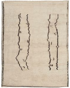 Vintage Moroccan Rug 46439 by Nazmiyal Antique Rugs African Rugs, African Textiles, Modern Moroccan, Moroccan Style, Morrocan Rug, Aztec Rug, Unique Rugs, Rugs On Carpet, Carpets