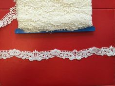 White Venice Lace Lolita Embroidery Lace Trim for Wedding Dress Accessories, Costume Design    This listing is for 1 yard. Description from weddbook.com. I searched for this on bing.com/images