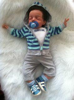 3.46/'/' Reborn Baby Dolls Mini Lifelike Boy Handmade Newborn Baby Doll