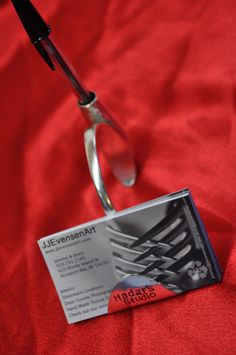 Personalized Business Card & Pen Holder