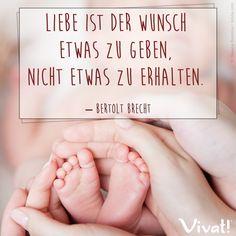 #Zitate und #Sprüche: »Liebe ist der Wunsch etwas zu geben, nicht etwas zu erhalten.« – Berthold Brecht
