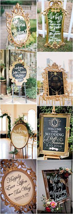 unique wedding signs #weddings #weddingideas #vintage #vintageweddings #weddingdecoration