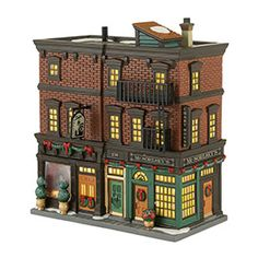 """Department 56: Products - """"Soho Shops"""" - View Lighted Buildings"""