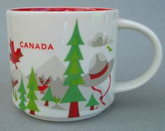 Starbucks Mug CANADA You Are Here Collection 2012. My wife bought this mug for me when she went to Toronto.