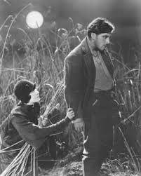 George O'Brien y Margaret Livingston en Amanecer (F.W. Murnau) 1927