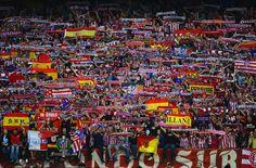 El Atlético de Madrid y su entrenador Cholo Simeone   SPORTS